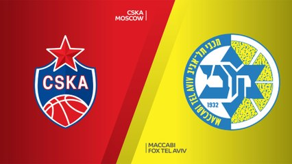 EuroLeague 2018-19 Highlights Regular Season Round 18 video: CSKA 76-93 Maccabi