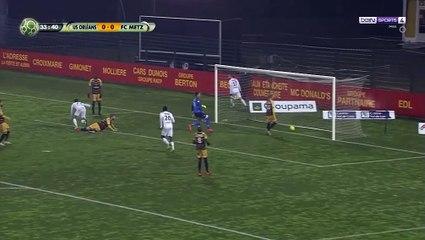 Ligue 2 : Farid Boulaya buteur face à Orléans