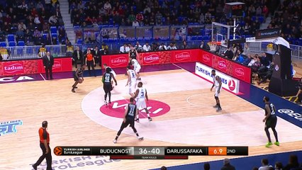 EuroLeague 2018-19 Highlights Regular Season Round 18 video: Buducnost 75-74 Darussafaka
