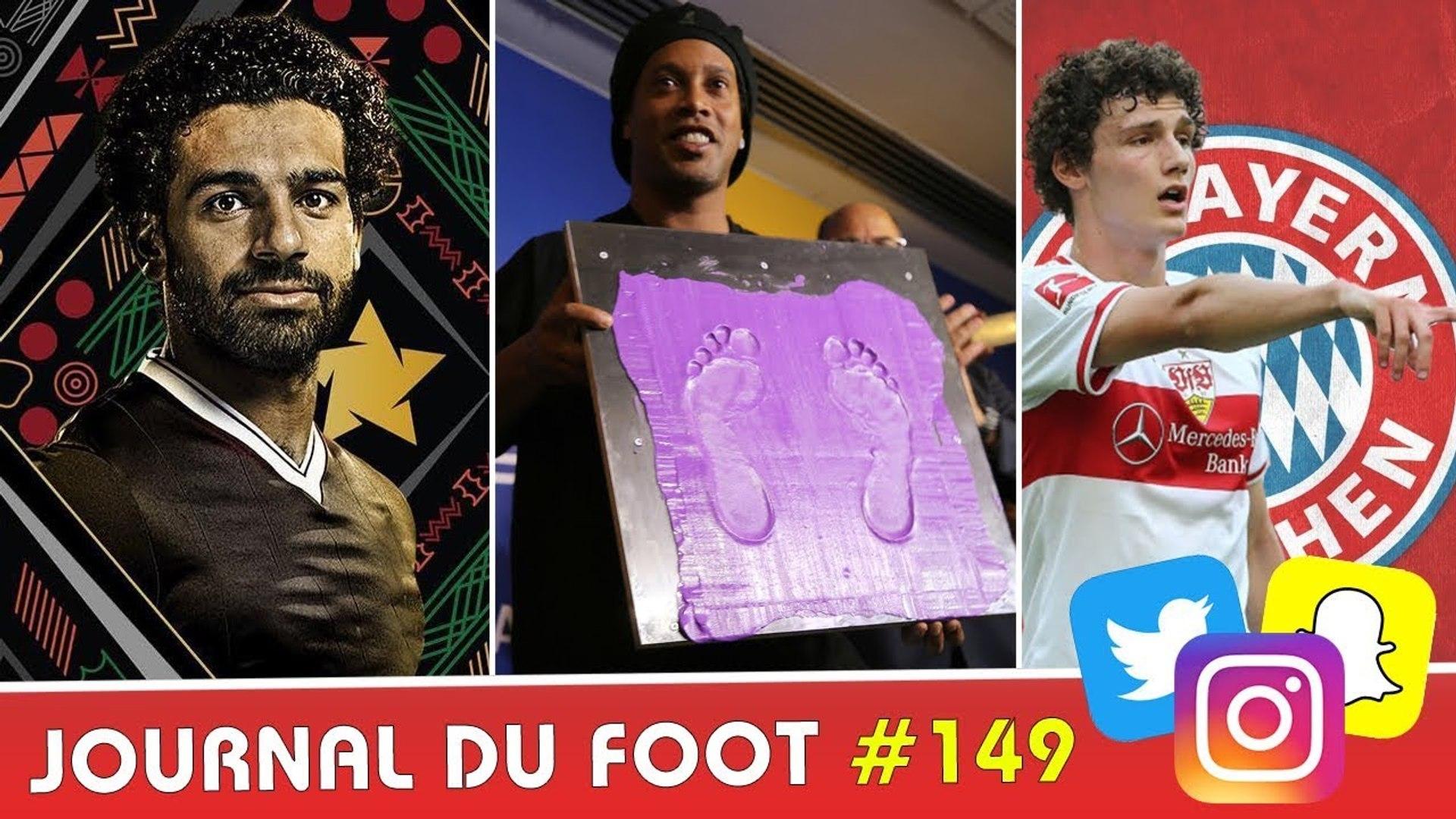 SALAH meilleur joueur africain, RONALDINHO au Panthéon du foot brésilien, PAVARD au BAYERN
