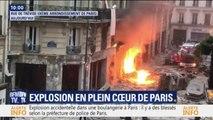 Les premières images des dégâts après l'explosion d'une boulangerie à Paris