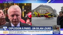 """Le procureur de Paris fait état de """"12 blessés en urgence absolue, dont 3 pompiers"""" après l'explosion rue de Trévise"""