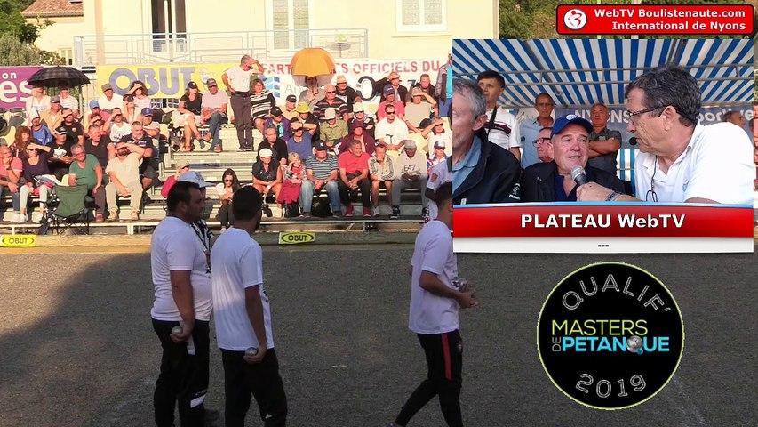 International de Nyons 2018 : Finale BONETTO vs MADAGASCAR
