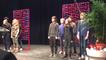 Des élèves de la chorale du collège Rosa Parks de Villejean interprètent Swear dreams