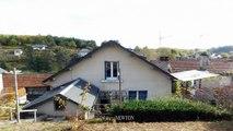 CORREZE. Ville de Corrèze. Belle maison en pierre avec 4 chambres, immense garage haut plafond et un jardin arrière de 263m2.