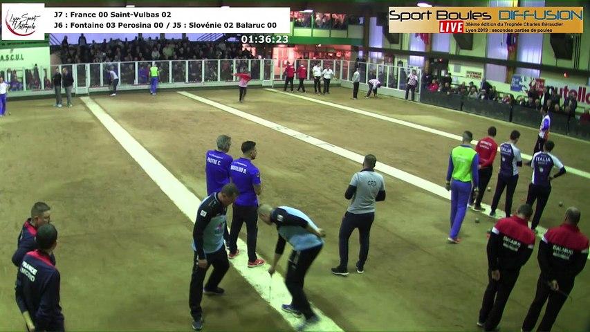 Secondes parties de poules, 38ème Trophée Charles Béraudier, Lyon Sport Métropole 2019