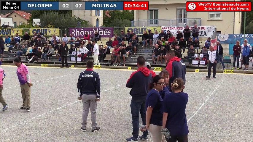 International de Nyons 2018 : Huitième ANDRIANTSEHENO vs DUBOIS