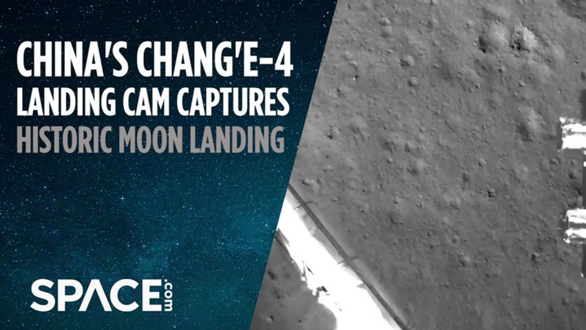 China's Historic Moon Landing Captured by Probe's Camera
