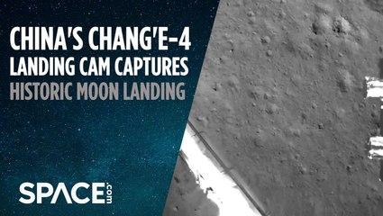 China's Historic Moon Landing Captured by Probe's Camera