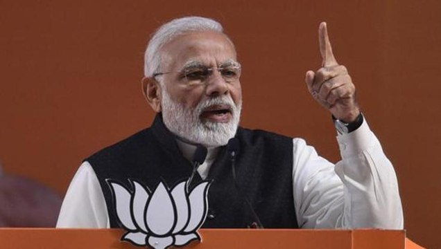 Confused opposition forming alliances with parties they dislike: PM Modi
