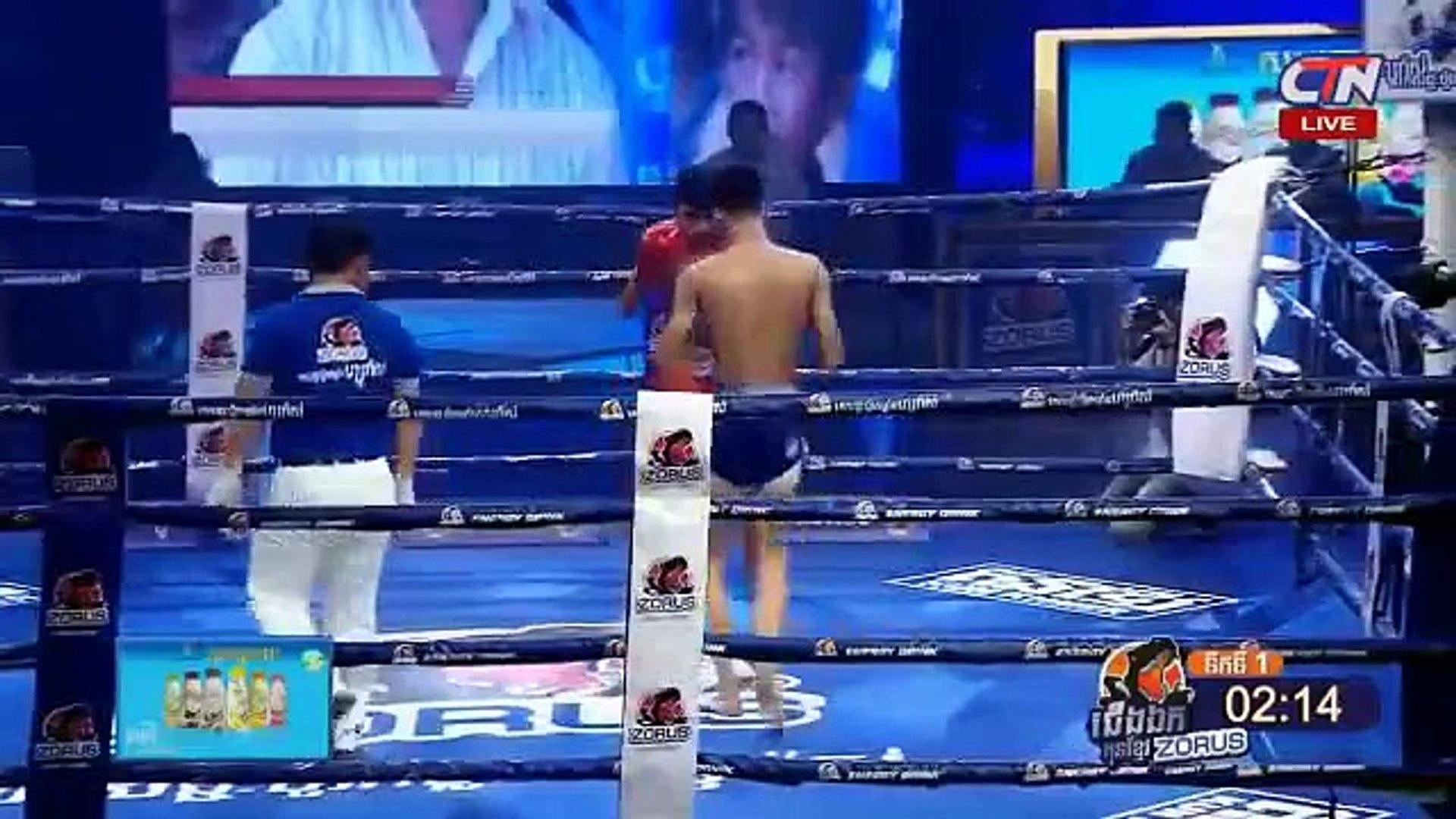 Long Chin, Cambodia Vs Ouysayam, Thai, 13 Jan 2019, International Boxing, Kun Khmer Boxing