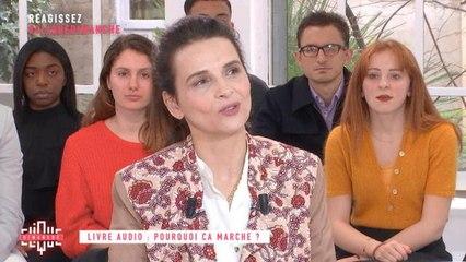 L'interview cinéma  avec Juliette Binoche - Clique Dimanche - CANAL+