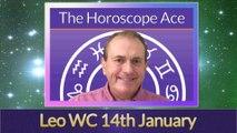 Leo Weekly Horoscope from 14th January - 21st January