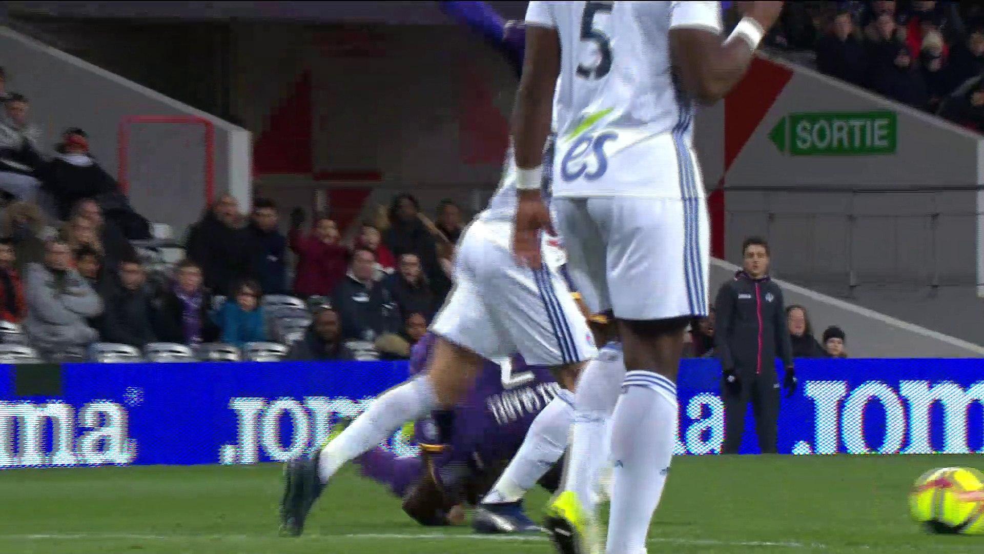 L'égalisation de Yaya Sanogo sur pénalty contre Strasbourg !