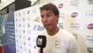 Rafael Nadal speaks after withdrawing from Mexico Open due to hip injury