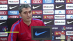 Valverde: There is no point in thinking about the game on Sunday against Atletico de Madrid