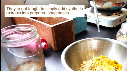 How To Make Natural Biodegradable Soap From Leftover
