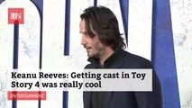 Keanu Reeves Is Loving His Part In 'Toy Story 4'