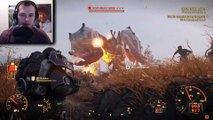 fallout 76 defeating SB queen with explosive weapons everyone uses explosive vs scorchbeast queen