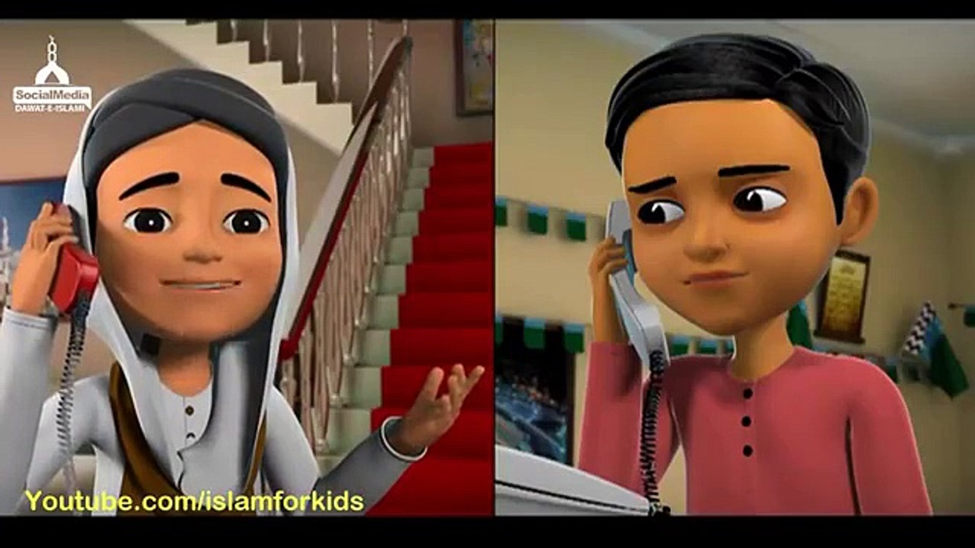 Kids Cartoon - Namaz Piyare Aaqa Ki Aankhon Ki Thandak Hai - Islam for Kids - DawateIslami