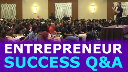 ACHIEVING ENTREPRENEUR SUCCESS & OVERCOMING OBSTACLES | Success Summit Q&A