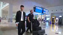 Son Heung Min arrives in Dubai to join South Korea squad