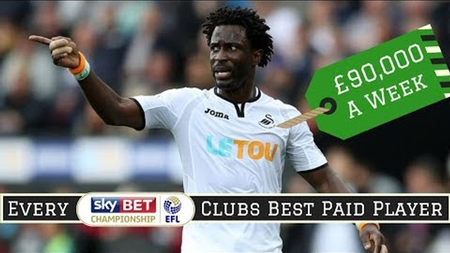 Best Paid Player at EVERY Championship Club