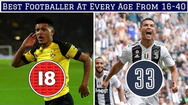 Best Footballer At EVERY Age From 16-40