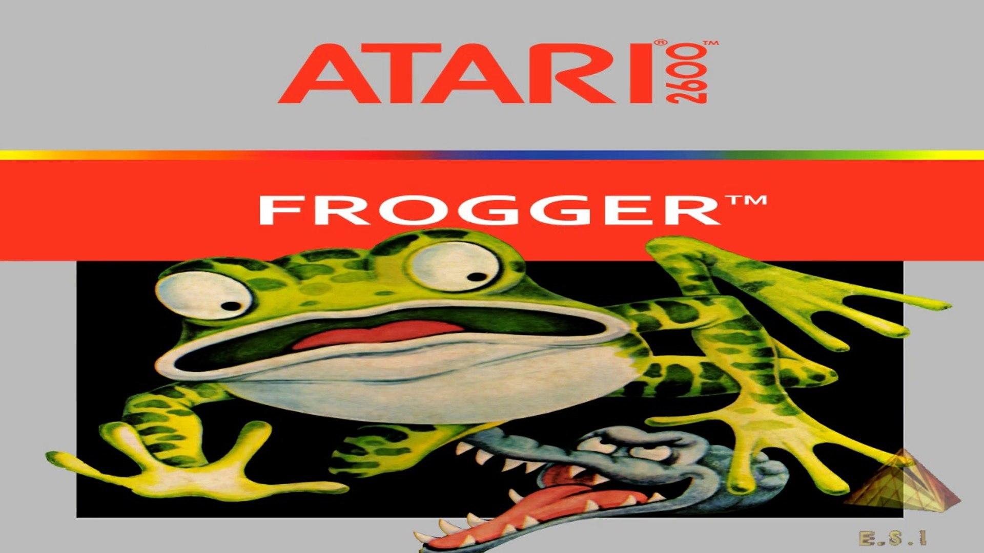 Jogo Frogger Atari 2600 1981 original gameplay documentário dicas tudo sobre este clássico