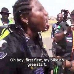 MEET AISHA, NIGERIA'S FASTEST FEMALE BIKER