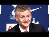 Tottenham 0-1 Manchester United - Ole Gunnar Solskjaer Post Match Press Conference - Premier League
