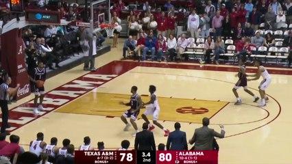 Texas A&M Guard TJ Starks' Buzzer-Beater Shocks Alabama