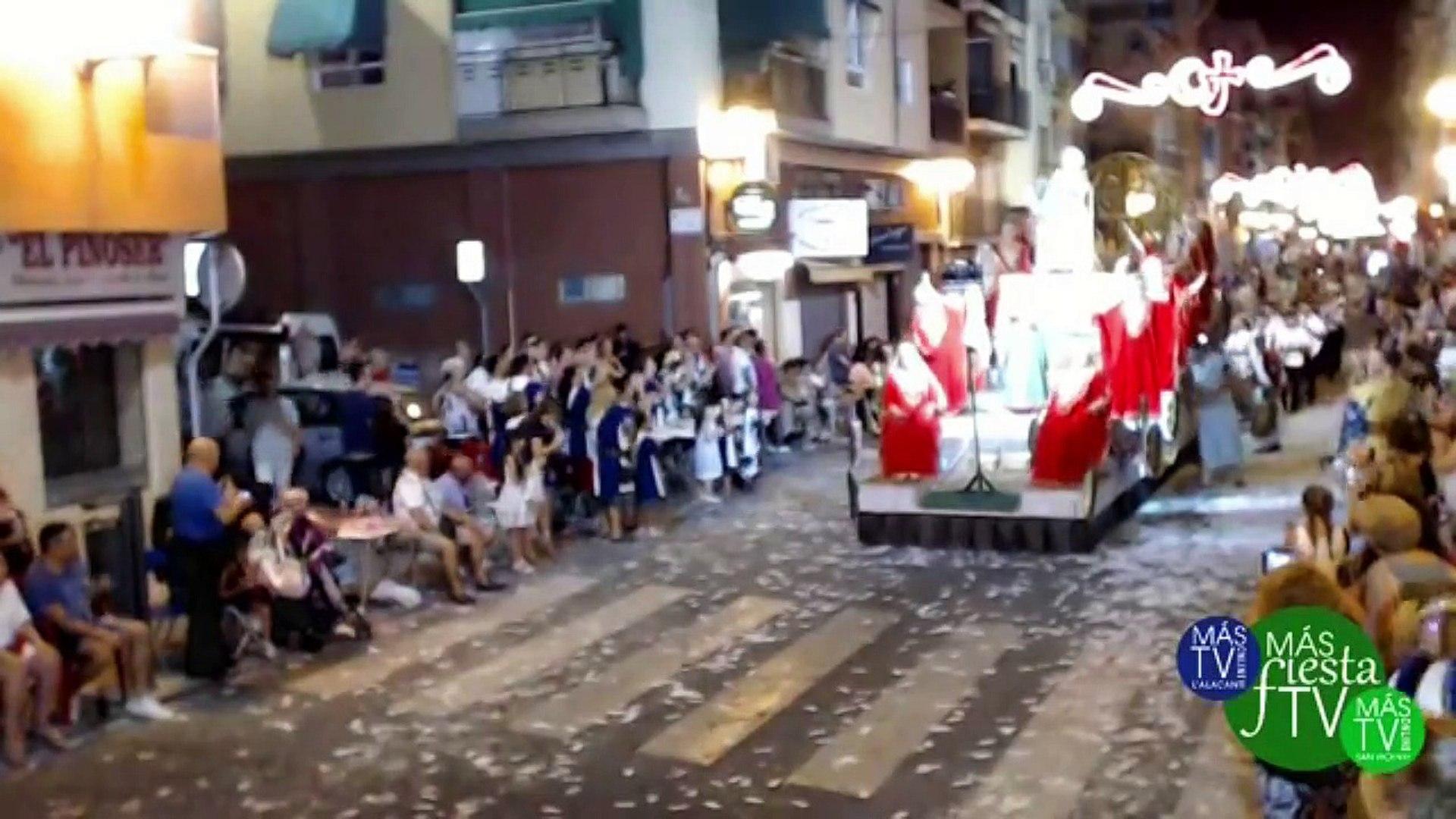 Moros y Cristianos Barrio San Blas Alicante 2018 Entrada Mora 3ª parte (MásFiestaTv)