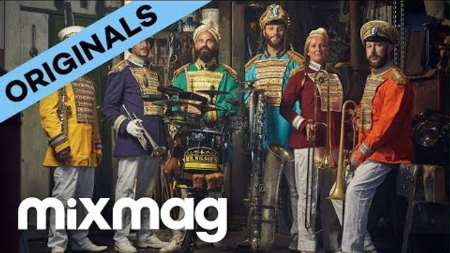 Meet the brass band that plays club classics