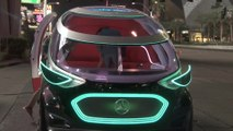 Mercedes-Benz Vision URBANETIC Preview at CES 2019