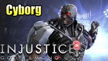 Injustice Gods Among Us {PS3 Remastered} #6 — Cyborg Life