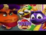 Spyro: Enter the Dragonfly All Cutscenes + All Bosses (Gamecube, PS2)