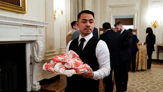 White House guests dine on fast food amid staff shortage