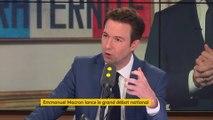 « Avec Laurent Wauquiez, nous avons décidé de participer à ce grand débat » annonce Guillaume Peltier