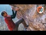 Digging Deep To Send This 8b+ Boulder | Climbing Daily Ep.1318