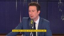 """Guillaume Peltier (LR) propose une baisse des dépenses de l'Etat de """"40 milliards d'euros"""", pour pouvoir augmenter """"tous les salaires"""""""