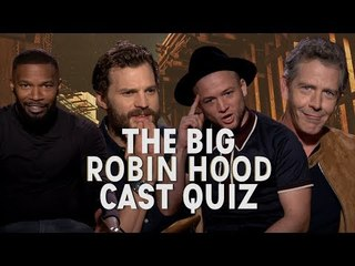 'He walks like a duck': The cast of Robin Hood test how well they know each other!