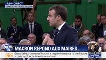 """Emmanuel Macron: """"On a peut-être trop de fonctionnaires de circulaire et pas assez de fonctionnaires de guichet"""""""