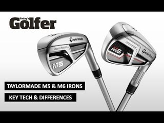TaylorMade M5 & M6 Irons: Key Technology and Differences