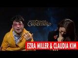Ezra Miller Rages At Camera Man in Hilarious Interview!