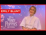 Emily Blunt: I cried the whole way home when Mary Poppins Returns ended
