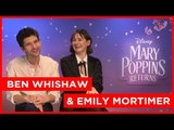 Ben Whishaw thinks people are disappointed he's not really Paddington!
