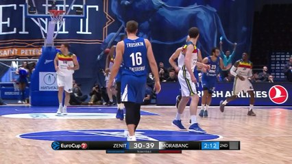 7Days EuroCup Highlights Top 16, Round 3: Zenit 71-80 MoraBanc