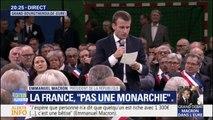 """Emmanuel Macron assure que les pensions de réversion """"ne seront ni supprimées, ni modifiées, ni réduites"""""""