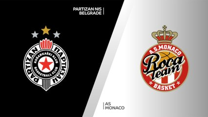 7Days EuroCup Highlights Top 16, Round 3: Partizan 68-72 Monaco